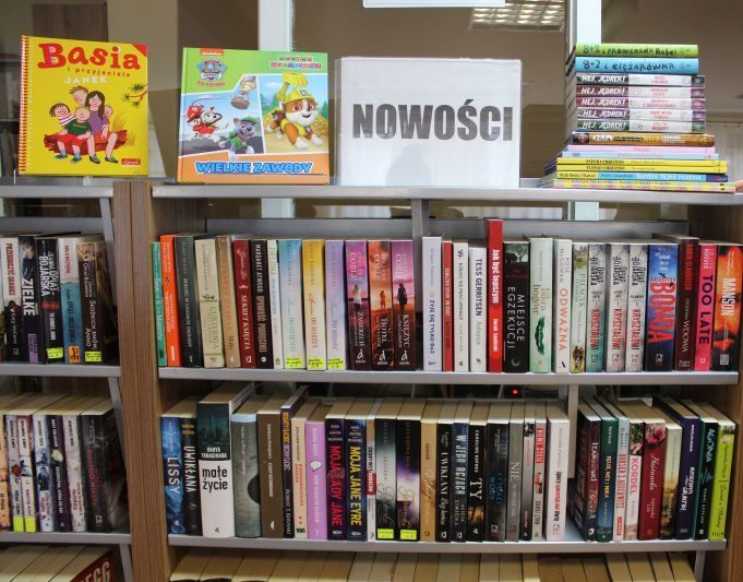 Zapraszamy do biblioteki po nowości wydawnicze
