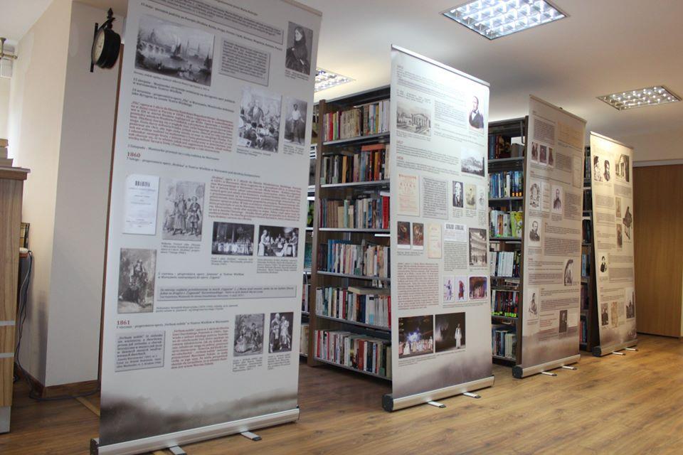 Wystawa poświęcona Stanisławowi Moniuszce