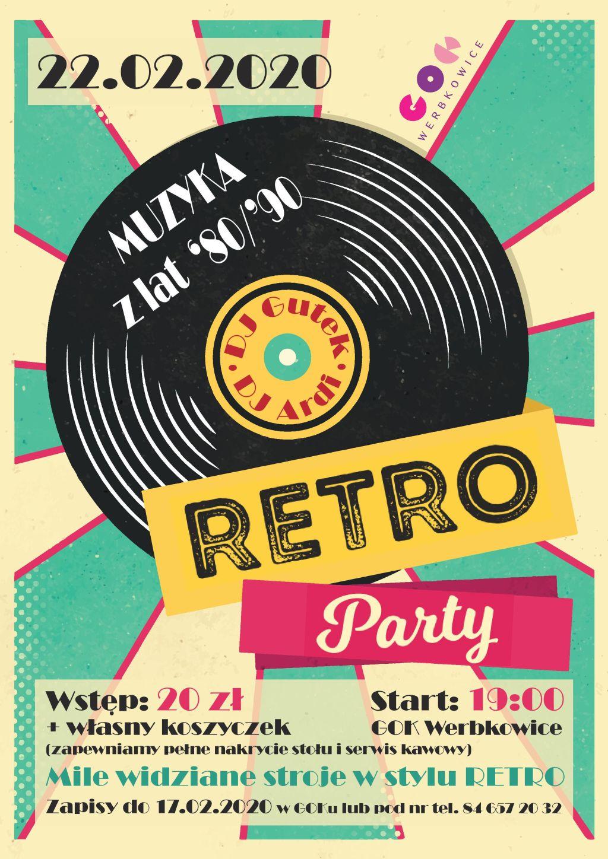 Zapraszamy na Retro Party!