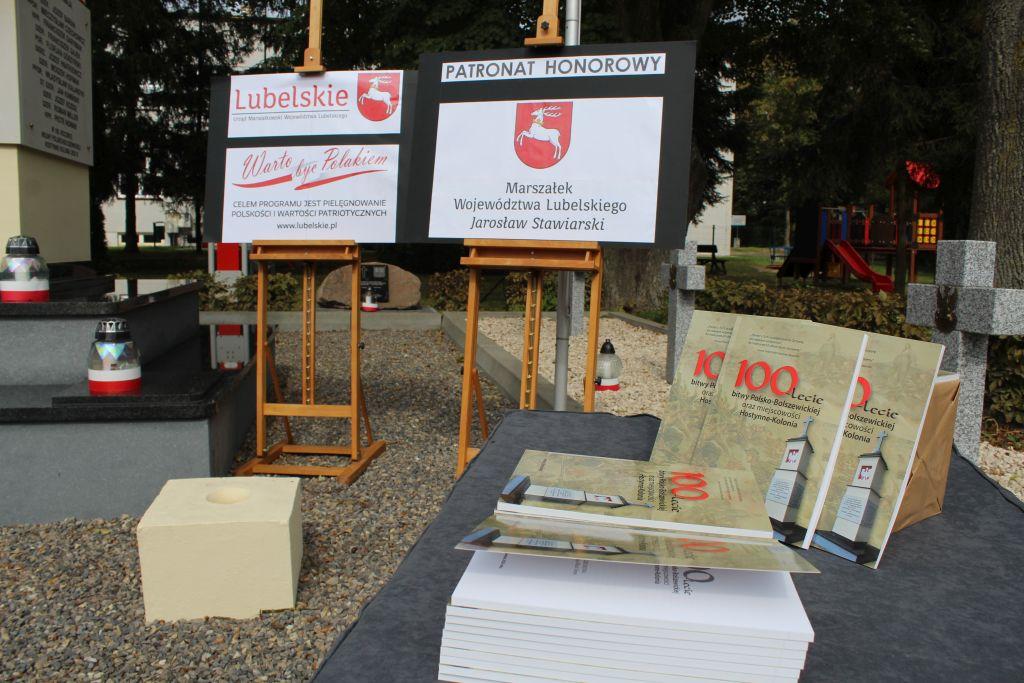 """Promocja książki """"100-lecie bitwy Polsko-Bolszewickiej oraz miejscowości Hostynne Kolonia"""""""