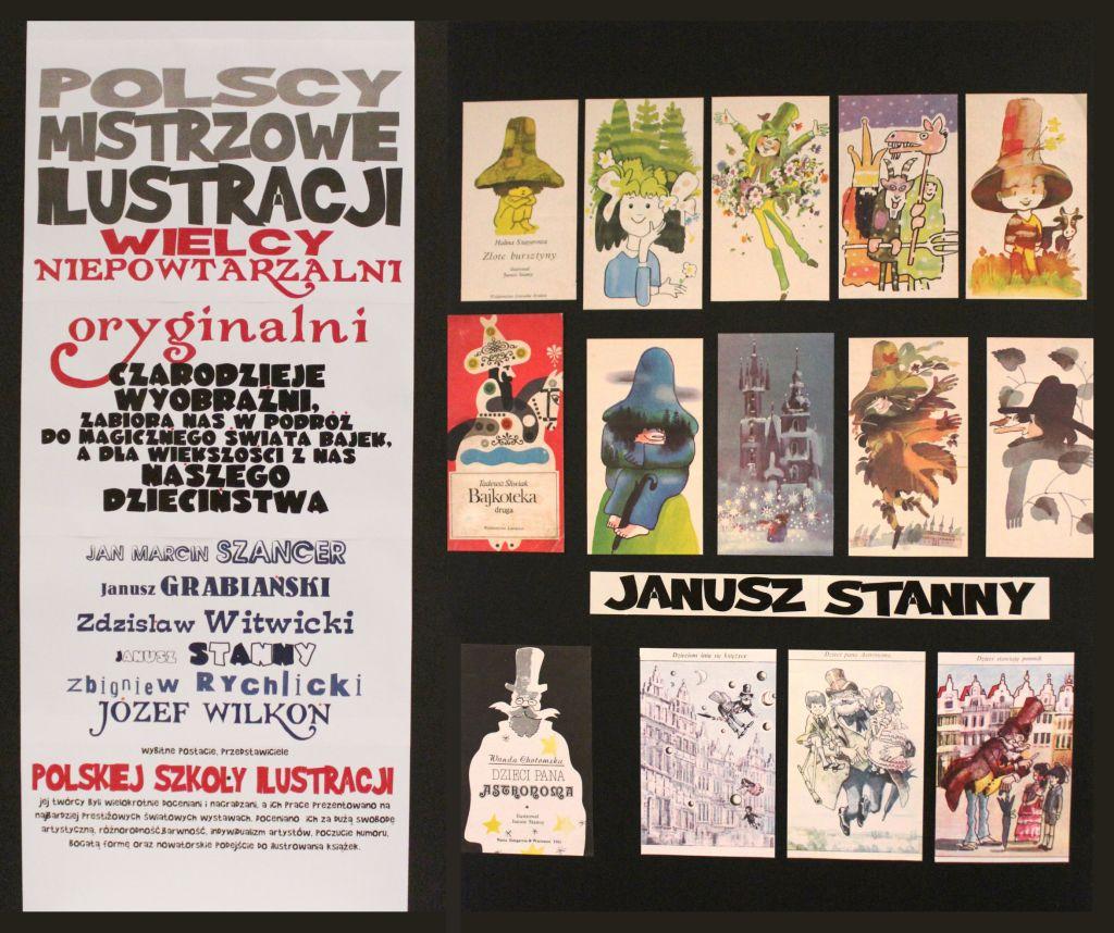 """Zapraszamy na wystawę """"Polscy Mistrzowie Ilustracji"""""""