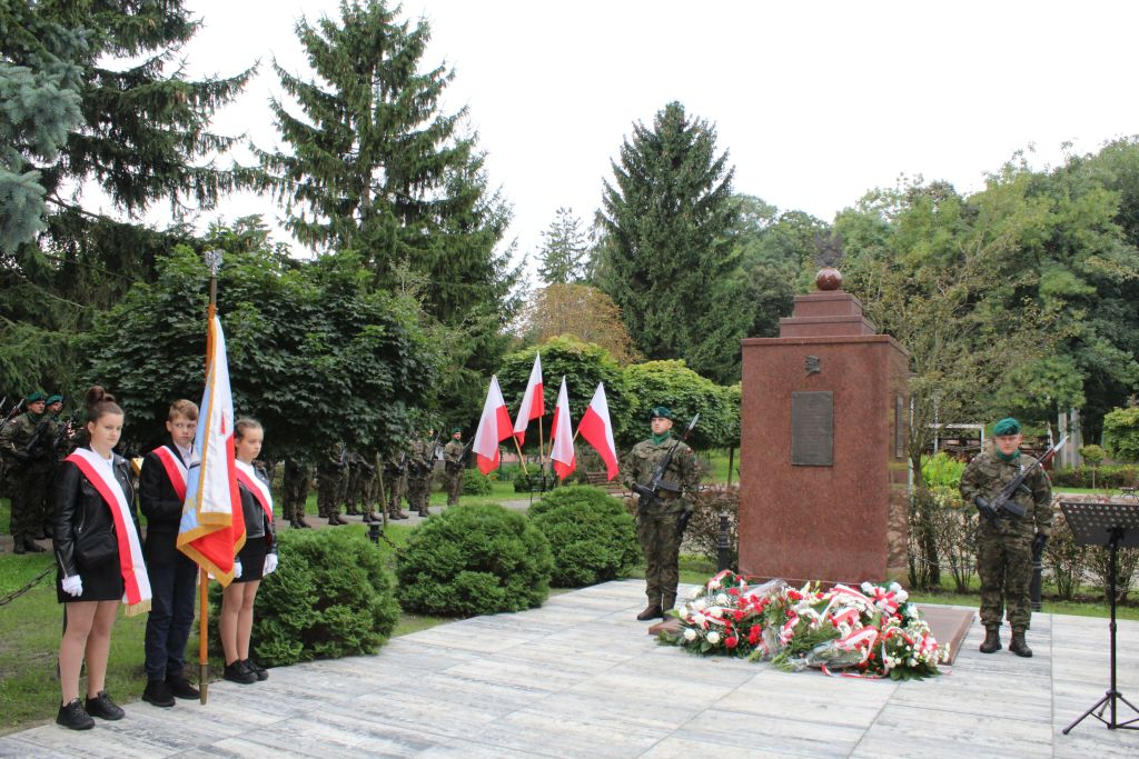 Uroczyste obchody 82. rocznicy wybuchu II wojny światowej